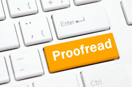 Proofread website
